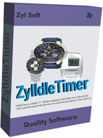 ZylIdleTimer is a Delphi / C++Builder component which lets you to take actions after a specified system-wide or application idle time or to check the time interval of user inactivity.